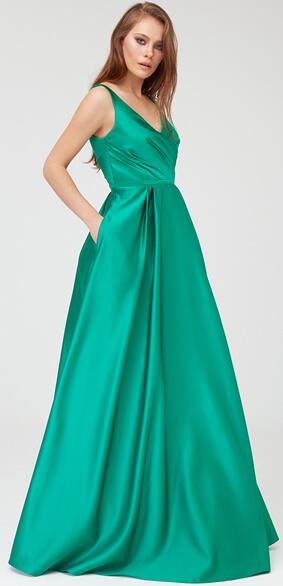 Saten Abiye Elbise Modelleri
